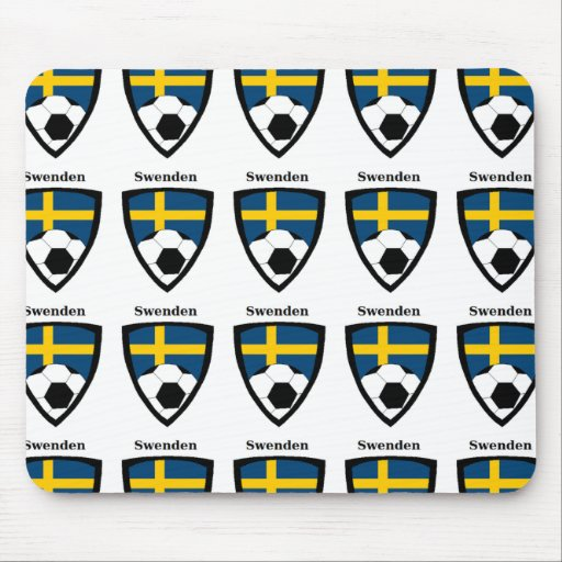 Sweden Soccer Mousepads