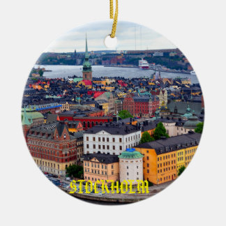 Sweden - Stockholm Beautiful Christmas Ornament