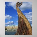 Sweden, Stockholm, harbour, from Gamla Stan, Poster