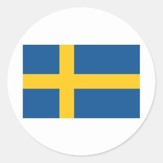 Sweden / Sverige Round Sticker