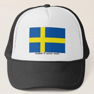 Sweden swedish flag souvenir hat