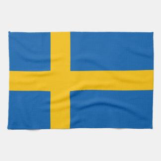 Sweden - Swedish Flag Tea Towel