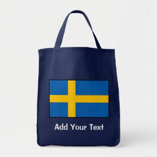 Sweden - Swedish Flag Tote Bag