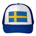 Sweden - Swedish Flag Trucker Hats