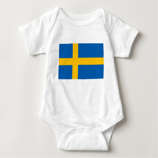 Sweden - Swedish National Flag Baby Bodysuit