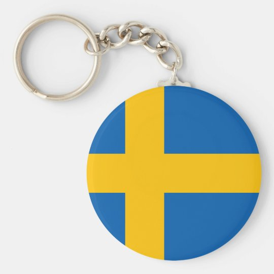 Sweden - Swedish National Flag Key Ring