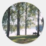 Sweden: Swedish Summer landscape Stickers