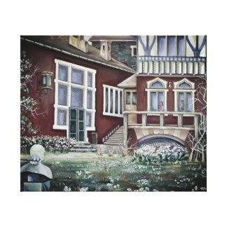 Sweden, Traditional Landscape Canvas Print