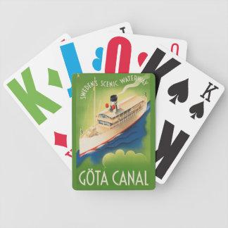 Sweden Vintage Travel playing cards