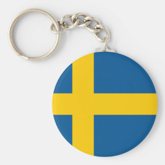 Sweden's Flag Key Ring