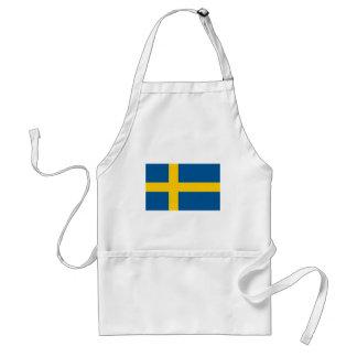 Sweden's Flag Standard Apron