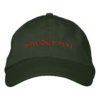 SWEDETOWN EMBROIDERED HAT