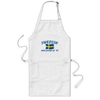 Swedish and Proud Long Apron