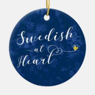 Swedish At Heart Holiday Decoration, Sweden Christmas Ornament