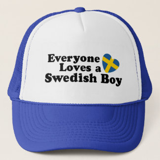 Swedish Boy Trucker Hat