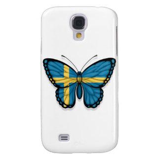 Swedish Butterfly Flag Galaxy S4 Case