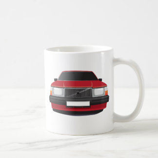 Swedish Classic Car from 80's - 90's Coffee Mug