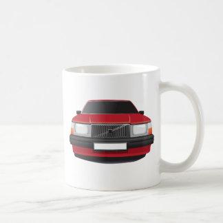 Swedish Classic Car from 80's - 90's Coffee Mug