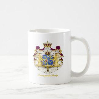 Swedish Coat of Arms Basic White Mug