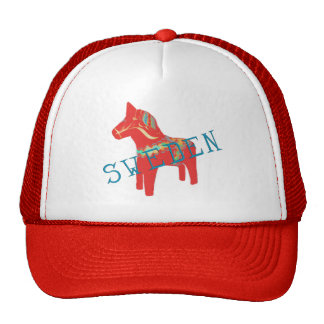 Swedish Dala Horse gifts & greetings Cap