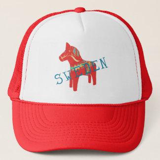 Swedish Dala Horse gifts & greetings Trucker Hat