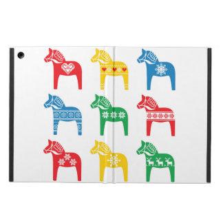 Swedish Dala Horse horse floral folk pattern Case For iPad Air