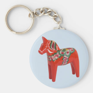 Swedish Dala Horse Scandinavian Key Ring