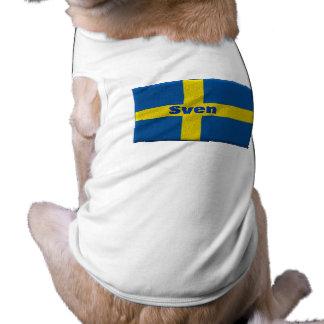 Swedish Doggie with Custom Name Shirt