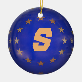 Swedish E.U. Christmas Ornament