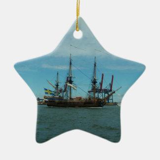 Swedish Easindiaman In Goteborg Christmas Ornament