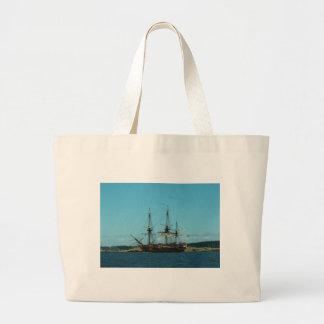Swedish East Indiaman Large Tote Bag