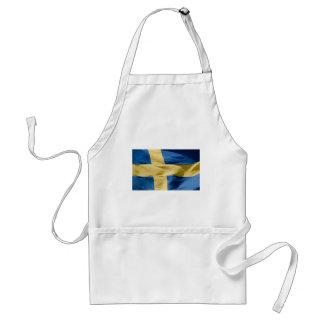 Swedish flag aprons