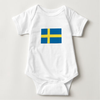 Swedish Flag Baby Bodysuit