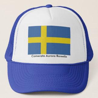 Swedish Flag, Camerata Aurora Borealis Trucker Hat