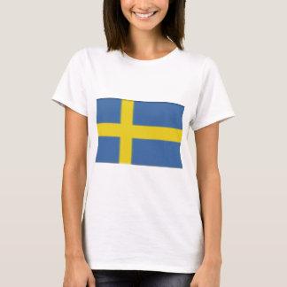 Swedish flag design T-Shirt