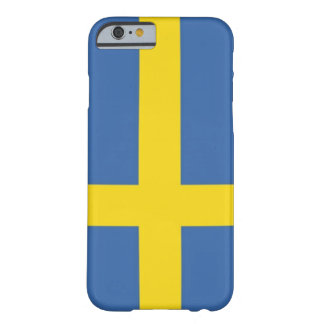 Swedish Flag Phone Case Barely There iPhone 6 Case