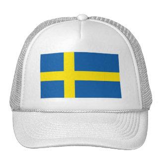 Swedish Flag Scandinavian Emblem Cap