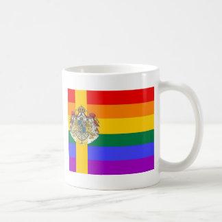 Swedish GLBT Pride Flag Coffee Mug
