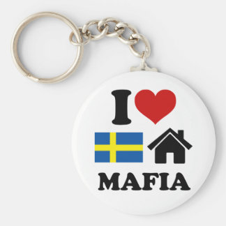 Swedish House Music Key Ring