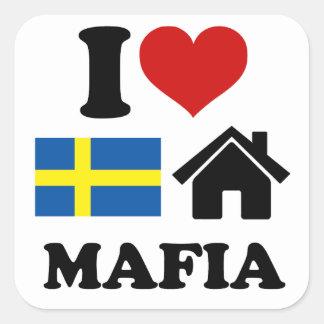 Swedish House Music Square Stickers