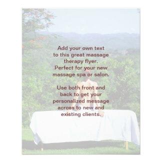 Swedish Massage Photo 11.5 Cm X 14 Cm Flyer
