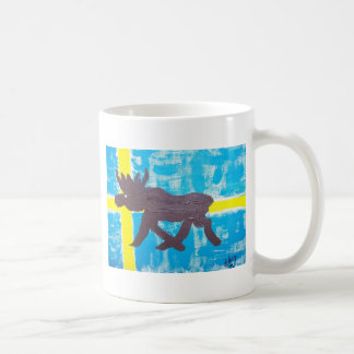 Swedish Moose Coffee Mug
