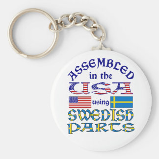 Swedish Parts Key Ring