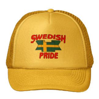 Swedish pride mesh hats
