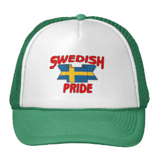 Swedish pride trucker hats