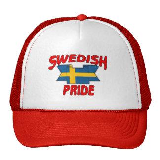 Swedish pride mesh hat