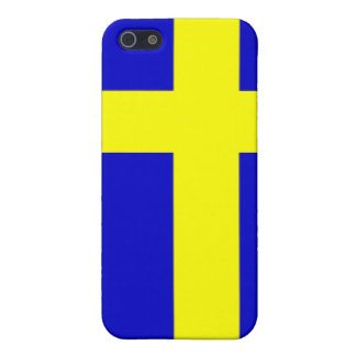 Swedish pride cover for iPhone 5