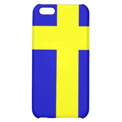 Swedish pride case for iPhone 5C
