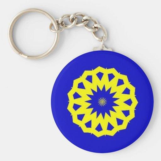 Swedish Pride Key Chain