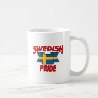 Swedish pride coffee mug